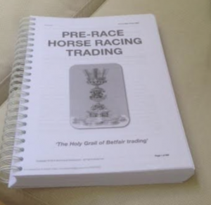 Racing trading ebook printed