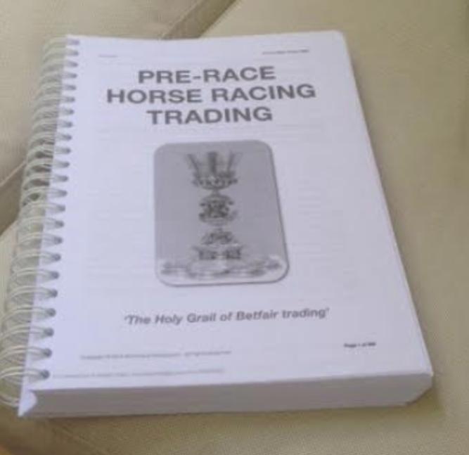 Racing trading ebook printed